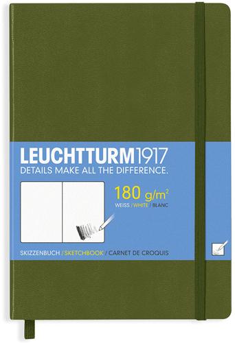 Skicář LEUCHTTURM1917 (zelený)