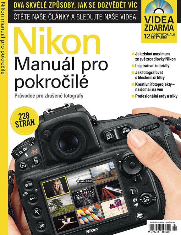 Nikon –  Manuál pro pokročilé